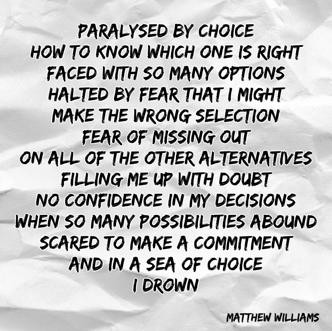 a sea of choice