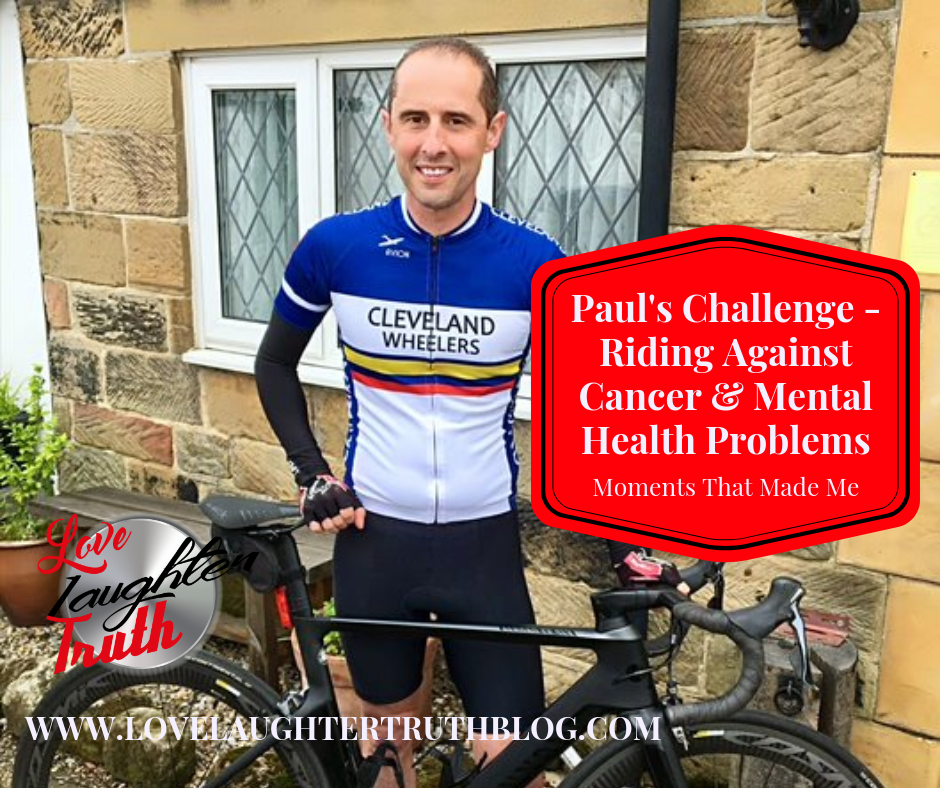 Paul's Challenge – Riding to Combat Cancer and Mental Health Problems