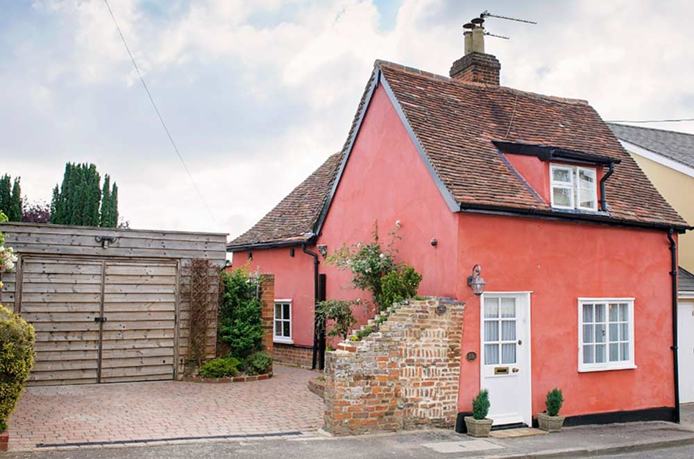 Poppy Cottage. Lavenham, Suffolk