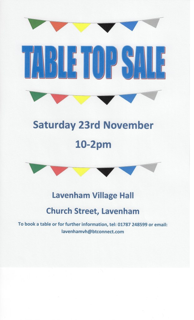 whats on Lavenham