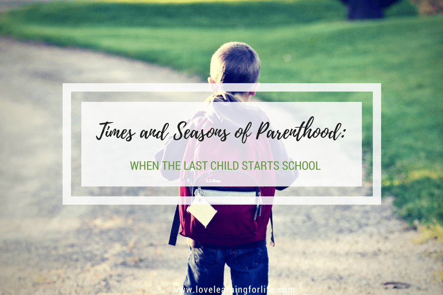 Times and Seasons of Parenthood: When the Last Child Starts School