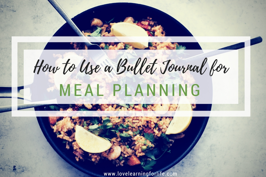 How to Use a Bullet Journal for Meal Planning