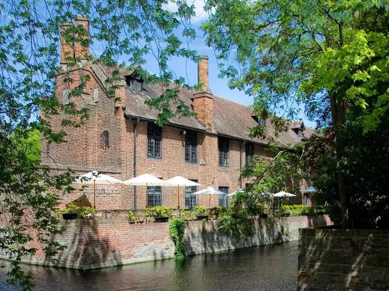 best outdoor wedding venues in London Tudor Barn Royal Greenwich in Eltham