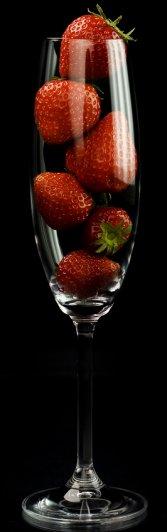 Strawberries fruit of love
