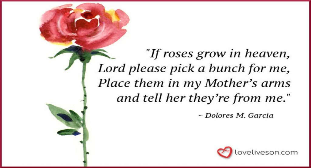 27 Best Funeral Poems for Mom  Love Lives On
