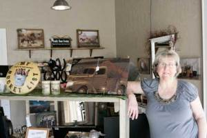 Debbie McConnaughey has opened a new retail shop at 63 E. Main Street in Lovell, offering unique gifts and handmade items for the home. Patti Carpenter photo