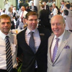 Toowoomba Grammar 'Old Boys', Graham Turner, Chamber of Commerce President, Geoff McDonald and Alan Jones