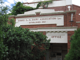 Downs Dairy Co-op Building