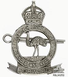 11th_Light_Horse_hat_badge