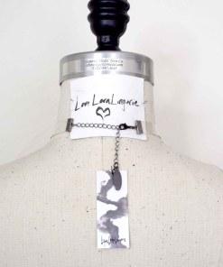 clear pvc bow collar