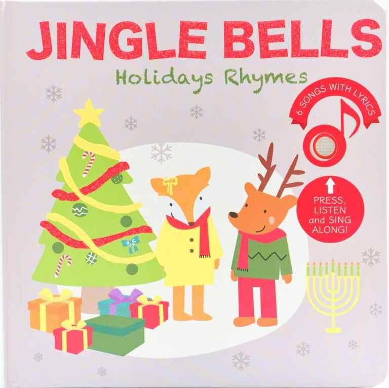 Livre sonore et musical Jingle Bells par Cali's books.