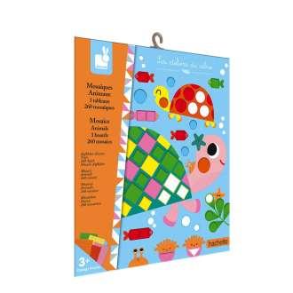 Kit créatif mosaïque animaux - JANOD - Lovely Choses