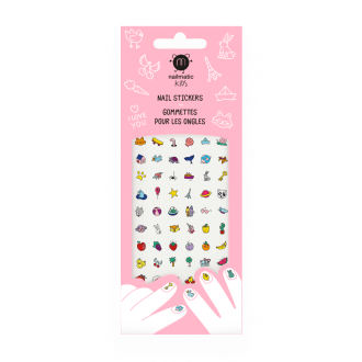 Nailmatic Kids - Stickers pour ongles enfant Happy Nails