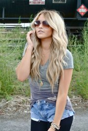 pretty and lovely blonde hairstyles