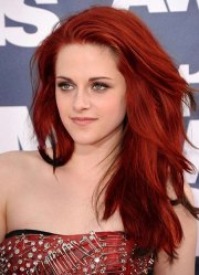 red hair color hairstyles