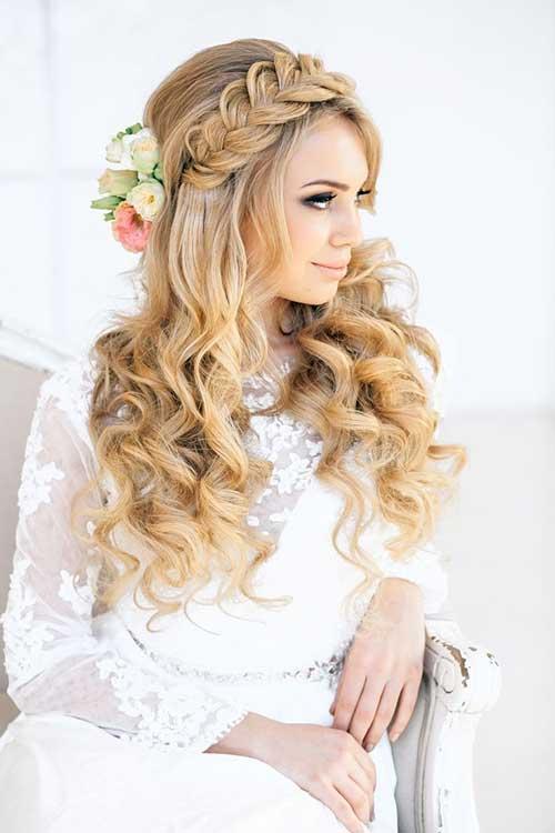 best wedding hairstyles for blonde long hair