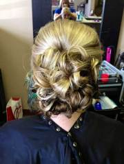 hair updos medium length
