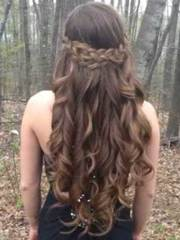hairstyles prom long hair