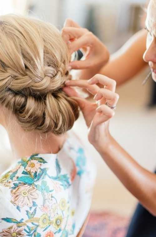 26 Nice Braids For Wedding Hairstyles Hairstyles And