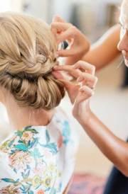nice braids wedding hairstyles