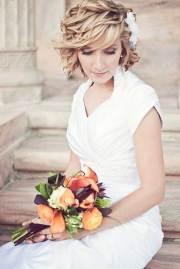 wedding hair styles short