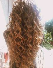 curly perms hair hairstyles