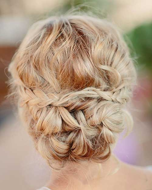 26 Nice Braids for Wedding Hairstyles