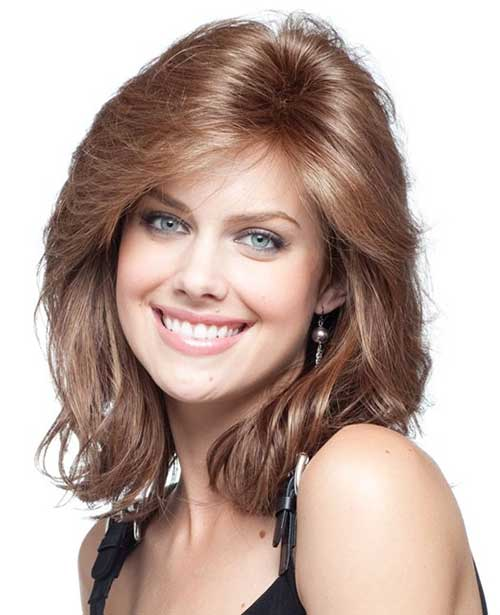 15 Thick Medium Length Hairstyles Hairstyles & Haircuts 2016 2017