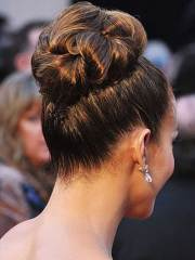 good bun wedding hairstyles