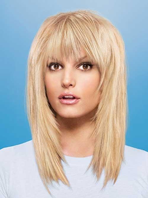 20 Best Medium Hair Cuts With Bangs Hairstyles & Haircuts 2016