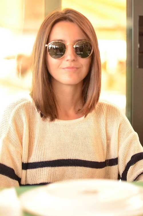 Straight Long Bob Hairstyles 2016 Easy Casual Hairstyles For