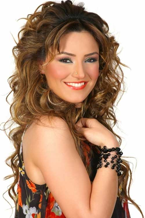 30 Best Curly Hair with Bangs  Hairstyles  Haircuts 2016  2017