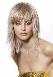 medium haircuts with bangs 2014