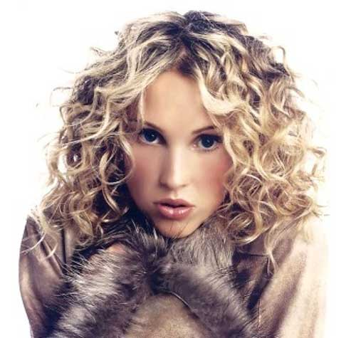 35 Medium Length Curly Hair Styles Hairstyles & Haircuts 2016 2017