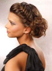 updo long hair hairstyles