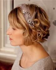 wedding hair styles short