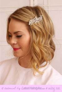 20 New Wedding Styles for Short Hair