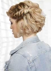hairstyles short hair prom