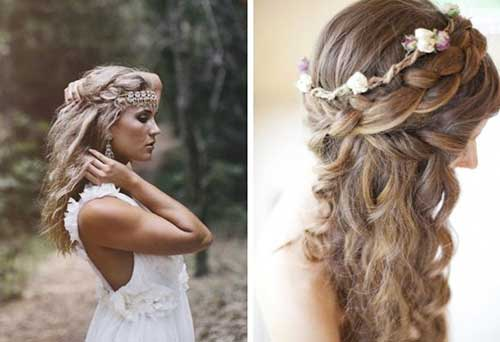 26 Nice Braids For Wedding Hairstyles Hairstyles & Haircuts 2016