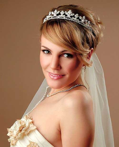 30 Wedding Hair Styles For Short Hair Hairstyles