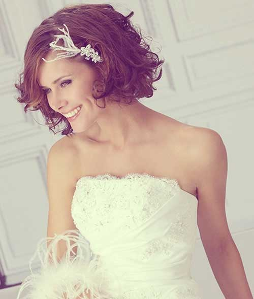 20 New Wedding Styles For Short Hair Hairstyles And
