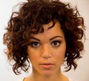 curly layered hairstyles