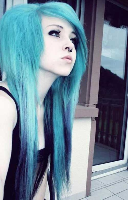 20 Long Emo Haircuts  Hairstyles and Haircuts  LovelyHairstylesCOM