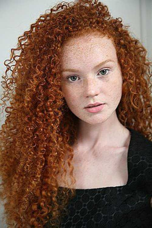 30 Red Natural Curly Hairstyles Hairstyles Ideas Walk The Falls