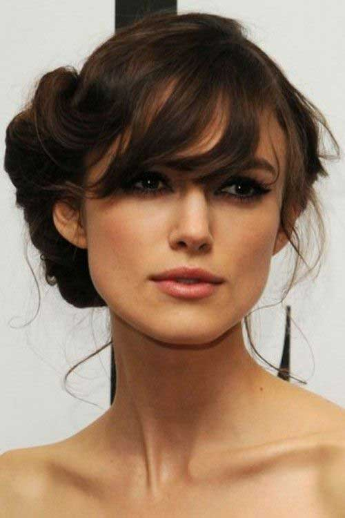 30 Updo Hairstyles With Long Bangs Hairstyles Ideas Walk The Falls