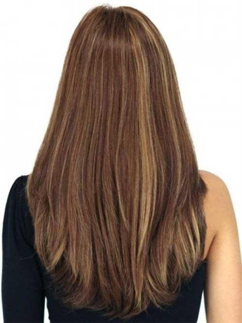 20 Layered Haircuts Back View  Hairstyles and Haircuts