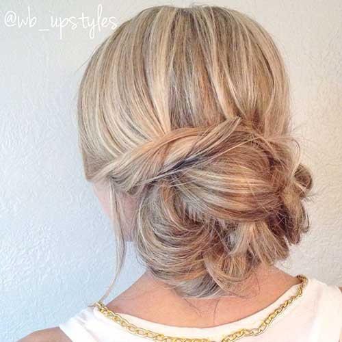 15 Easy Messy Buns Hairstyles Amp Haircuts 2016 2017