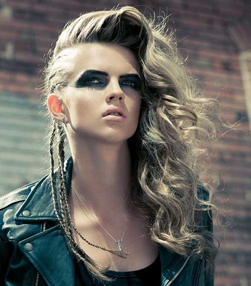 Punk Hairstyles Long Hair Hairstyles Haircuts 2016 2017