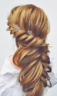 Beautiful Bridal Updos for Long Hair