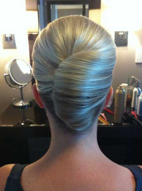 Image Result For How To Make French Roll Hairstyle For Long Hair